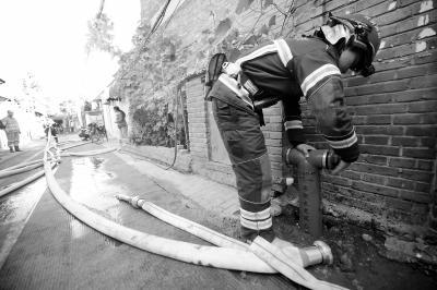 东城小巷专用下埋水管防火