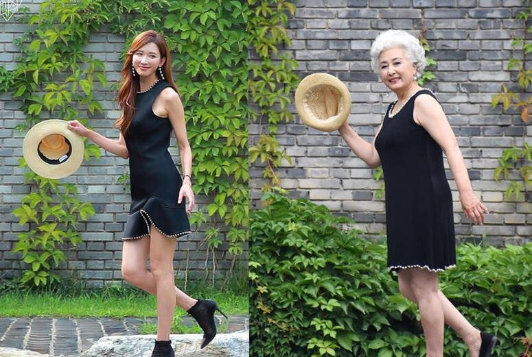 70岁老人挑战林志玲