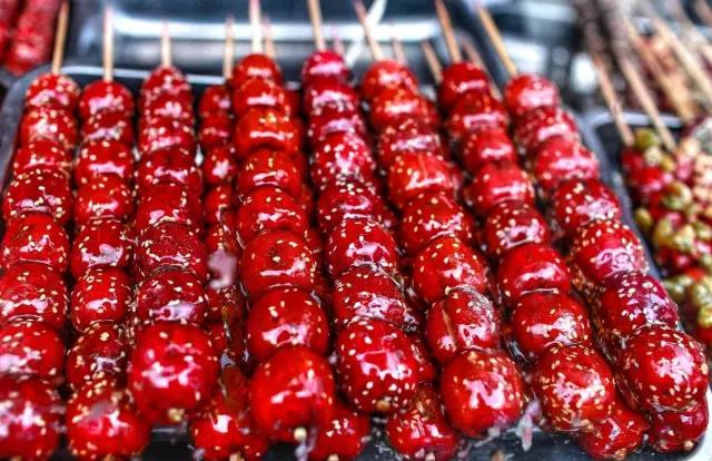 吃货的世界就是不一样,北京美景在他们眼里都是美食!