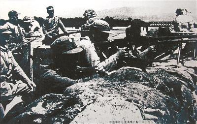 卢沟桥守军顽强抵抗日军的入侵(资料图)
