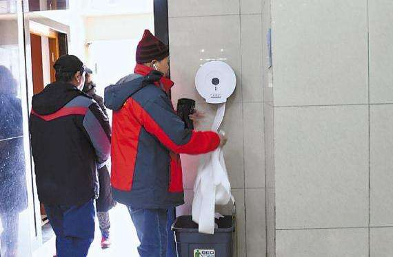 天坛:提供厕纸已有10年历史
