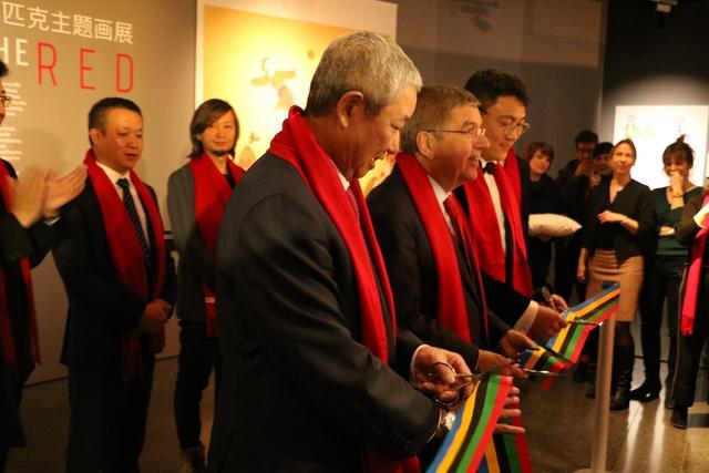 """用体育和文化连接世界 """"中国红-点亮2022""""新春贺岁活动举办"""