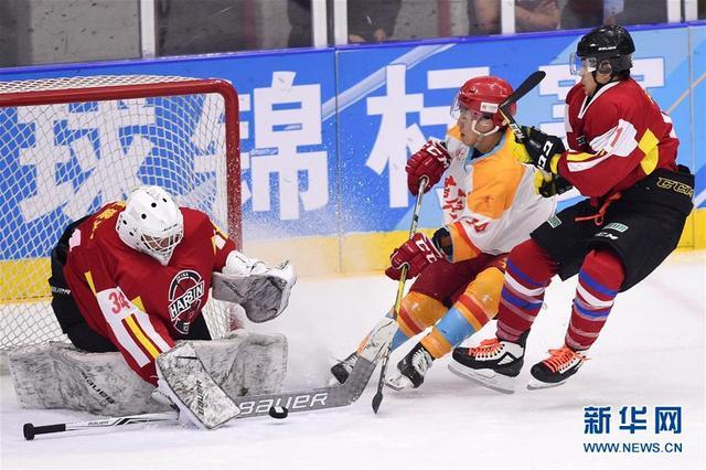 冰球全国锦标赛专业组收官 齐齐哈尔队哈尔滨队分获男女组冠军