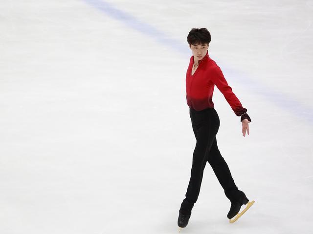 金博洋摘得全国花样滑冰大奖赛男单冠军