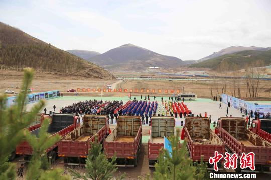 北京冬奥会张家口赛区举行建设项目集中复开工仪式