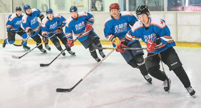 中国冰球人:冰场上追逐冬奥梦