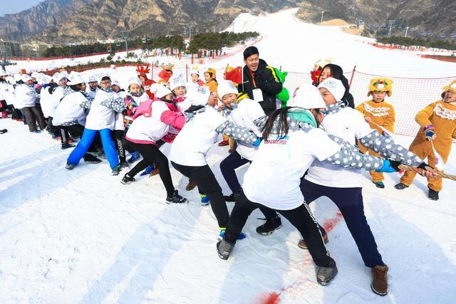 Budding Young Chinese Skiers Hit the Slopes to Mark World Snow Day
