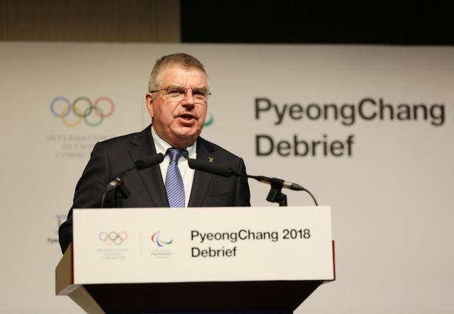 蔡奇会见国际奥委会主席巴赫
