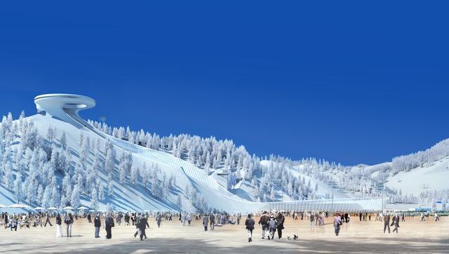 网络媒体走进北京冬奥张家口赛区 感受赛区冰雪文化