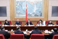 张高丽出席冬奥会工作领导小组会议