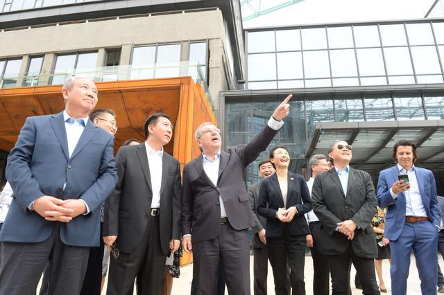 IOC President praises Beijing 2022's excellent work