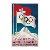 第2届冬奥会会徽