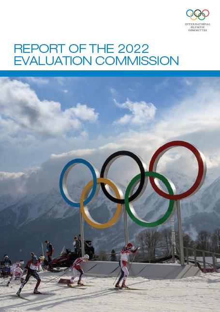 奥委会公布2022年冬奥会候选城市《评估报告》