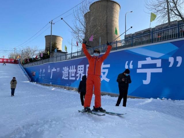 冬奥社区近5000平方米冰雪乐园免费开放