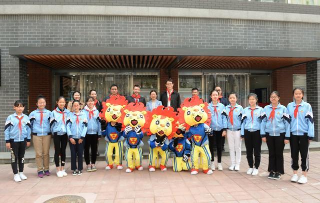 国际奥委会官员在京考察奥林匹克教育项目