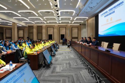 平昌冬奥会中国籍赛会志愿者代表聚首北京冬奥组委