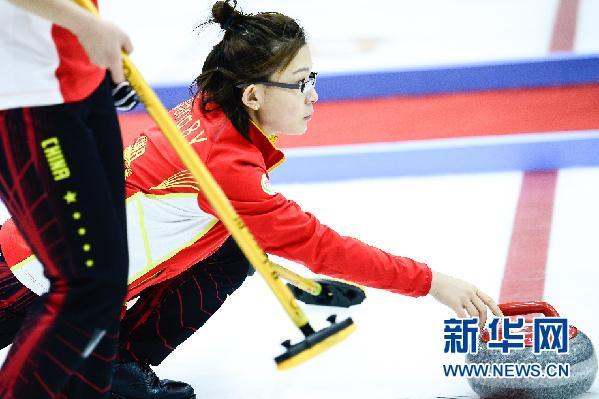 王冰玉将率领中国冰壶队备战平昌冬奥会资格赛