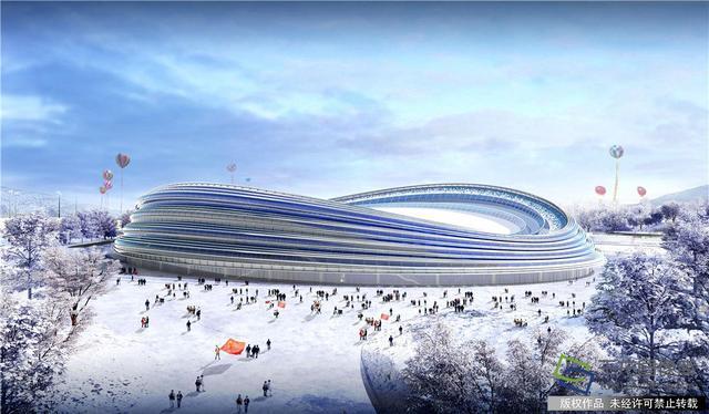 """北京冬奥会""""冰丝带""""跃出地面 预计9月底完成主体结构施工"""