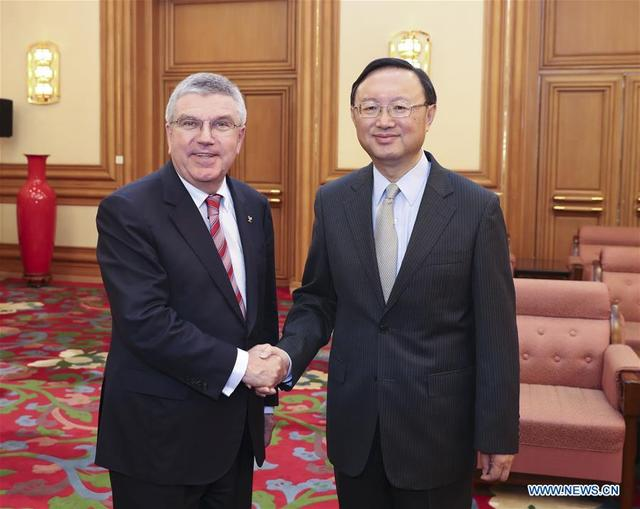 China, IOC eye stronger cooperation in build-up to 2022 Winter Olympics