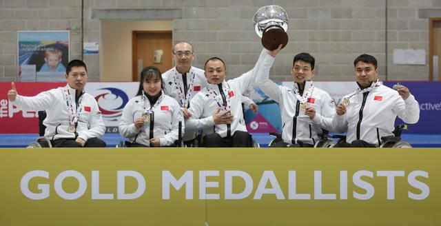 China Wins Historic Gold at World Wheelchair Curling Championships