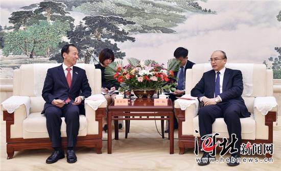 许勤会见韩国江原道知事 将在奥运领域开展全方位合作
