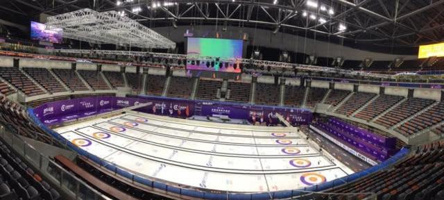 冰壶世界杯苏州站开赛