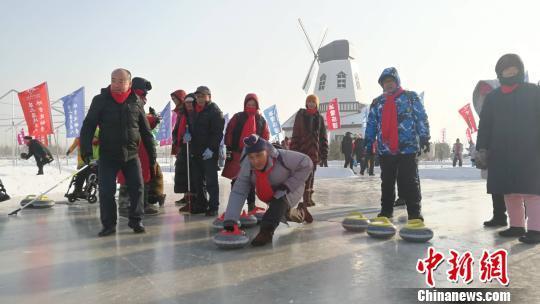 中国残疾人冰雪运动季搅热最北黑龙江