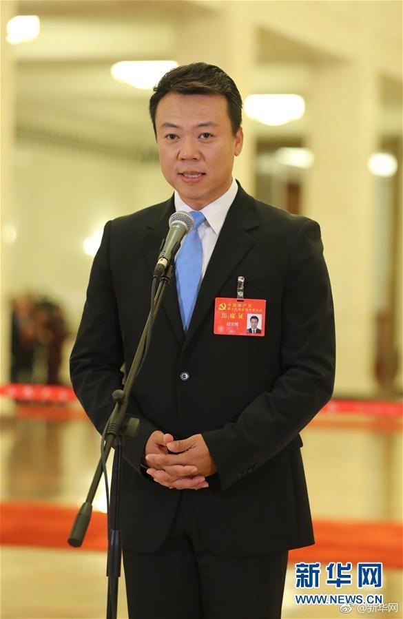 十九大代表赵宏博:向世界奉献一个有着浓厚中国文化气息的北京冬奥会