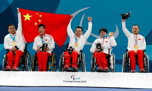 中国轮椅冰壶队获得国际残奥委会最佳团队奖