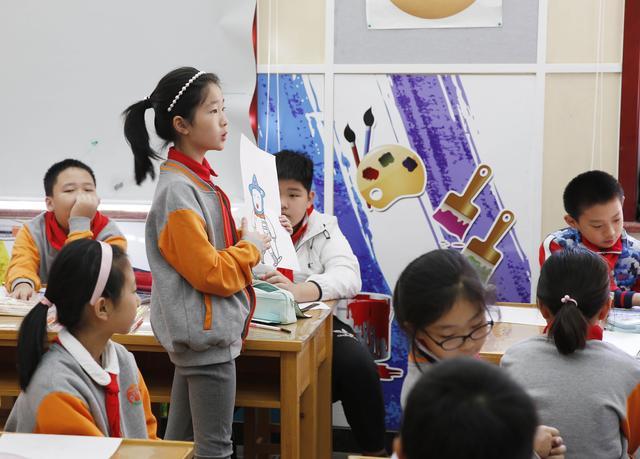 """""""我心中的冬奥吉祥物""""主题活动启动仪式在西中街小学优质教育资源带举行"""