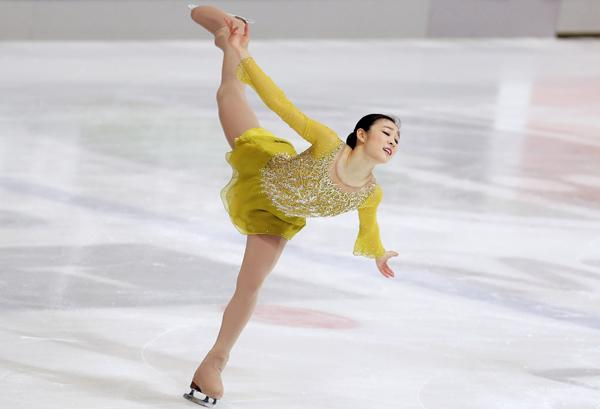 韩国著名女单花样滑冰运动员
