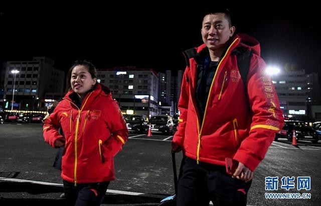 中国代表团陆续抵达平昌 7日举行升旗仪式