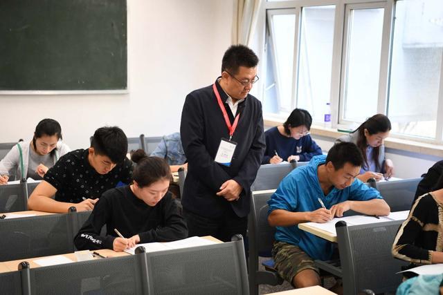 北京冬奥组委举行2018年社会招聘笔试