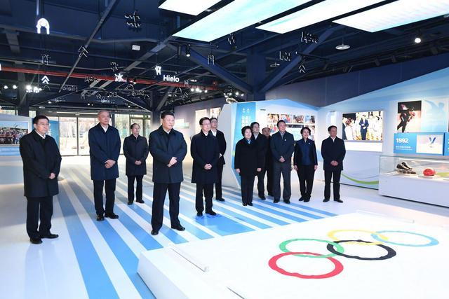习近平考察北京冬奥会和冬残奥会筹办工作