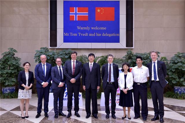 国家体育总局领导会见挪威奥委会客人