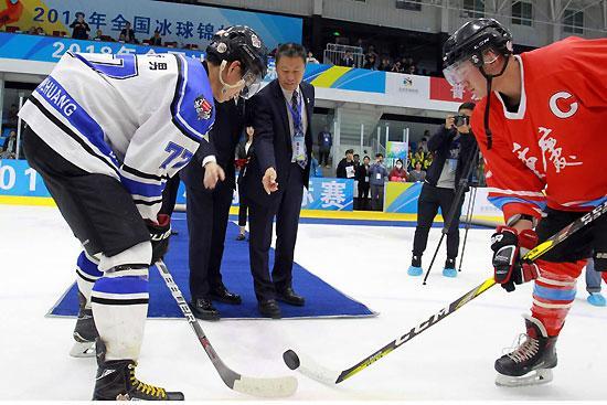 """北京冰球""""学生军""""渐成规模"""