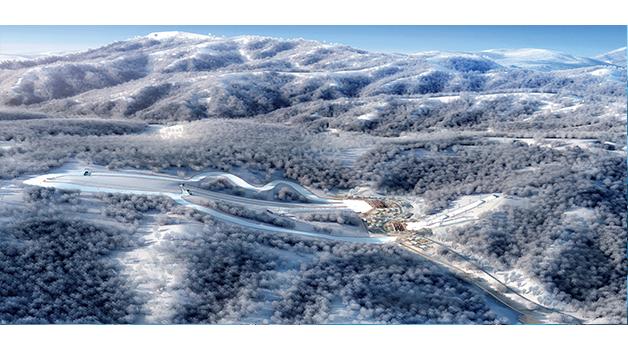 项目介绍-单板滑雪