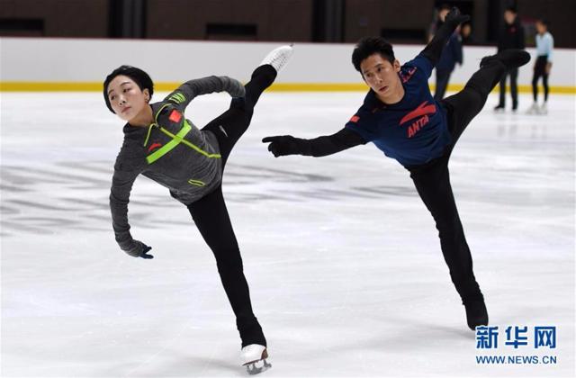 中国花样滑冰队备战冬奥会用上了新技术
