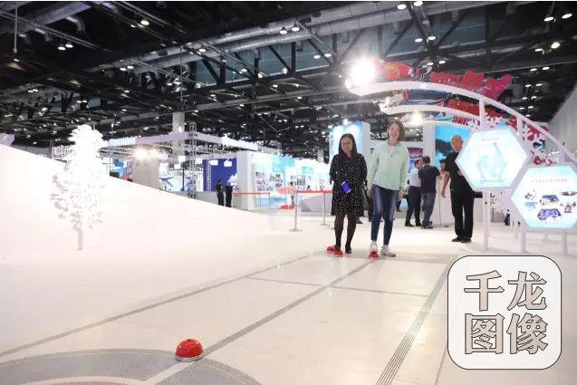 冰蹴球亮相冬博会 助力宣传北京冬奥会