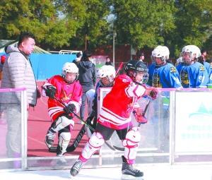 冰上运动成中小学生体育新亮点