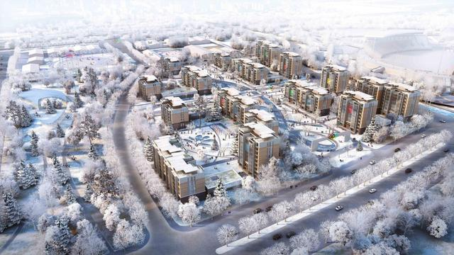 北京冬奥村2021年交付使用 选址奥体文化商务园区内