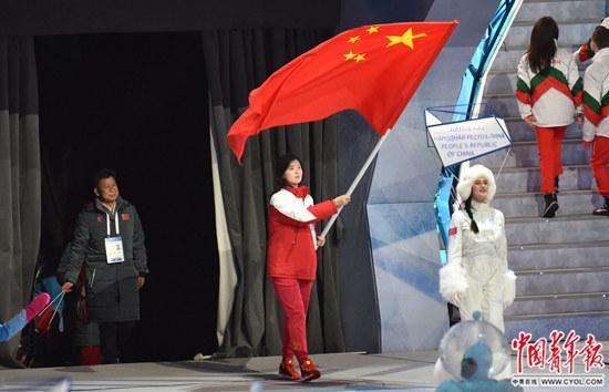 中国代表团旗手杨诗琦的大冬会感悟:滑雪让我心态更平和