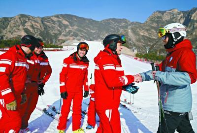 京郊农民滑雪队