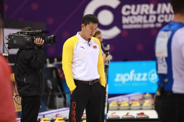 冰壶世界杯苏州站中国男队击败世锦赛冠军