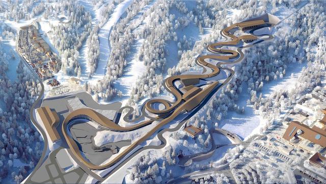 模块测试成功,北京冬奥会雪车雪橇赛道建设迎来里程碑