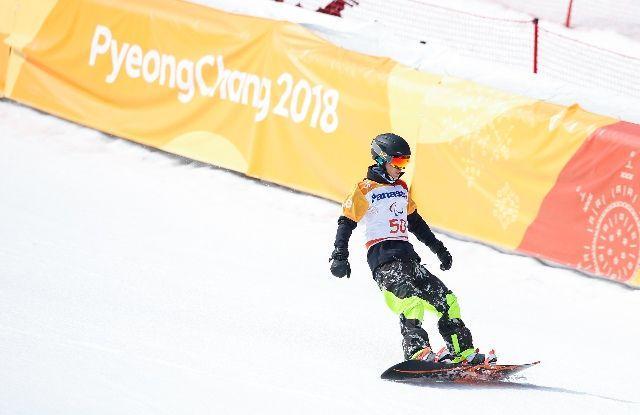 再练两年,咱们能赶上——中国单板滑雪小将冬残奥赛场初体验
