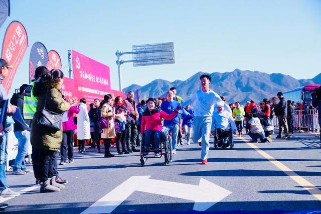 北京延庆区举办迎冬奥马拉松公益挑战赛