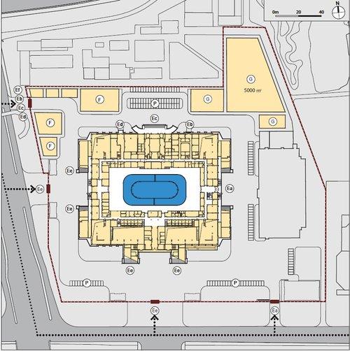 Palais omnisports de la capitale – patinage artistique/patinage de vitesse sur piste courte