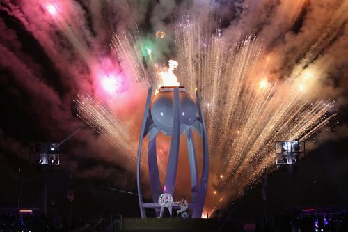 La cérémonie d'ouverture des Jeux Paralympiques d'hiver de Pyeongchang 2018