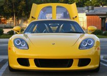 保时捷顶级神器Carrera GT 极品黄